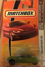 MATCHBOX  CITROEN DS 1968 Lime Green  Heritage Classic  MB 735
