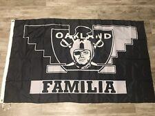 NFL Oakland Raiders FAMILIA Flag - 3x5 FT RAIDER NATION