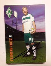 Signierte AK Clemens Fritz  Werder Bremen  NEU