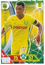 219 KOFFI DJIDJI IVORY COAST FC.NANTES CARTE CARD ADRENALYN LIGUE 1 2018 PANINI