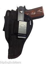 Gun Holster fits Dan Wesson 1911 | Pro-Tech Outdoors Black Nylon OWB