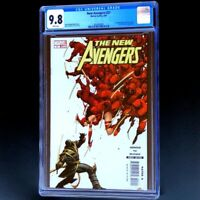 NEW AVENGERS #27 🔥 CGC 9.8 WHITE PGs 🔥 1st APPEARANCE HAWKEYE as RONIN! 2007