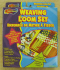 3 CRAFT HOUSE - WEAVING LOOM SET WITH LOOPERS - NEW - MADE IN USA  ZCRA-50991