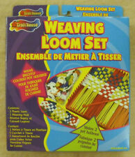 CRAFT HOUSE - WEAVING LOOM SET WITH LOOPERS - NEW - MADE IN USA     #ZCRA-50991