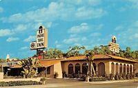 San Diego California~Padre Trail Inn~Old Town~1960s Postcard