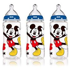 Nuk Disney Orthodontic Bottles Mickey Mouse 3 Pack 10oz