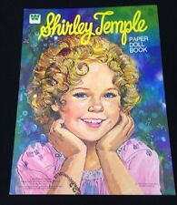 Vintage 1976 Whitman Original Shirley Temple Movie Star Paper Doll Book Uncut
