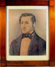Porträts & Personen künstlerische Malerei mit Pastell-Technik auf Papier