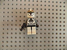 LEGO Minifigure Star Wars Clone Gunner 8014 8039 Copper Details