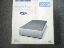 LACIE 250Gb Hi-Speed USB2 Interface External Hard Drive with PSU & Cables - D