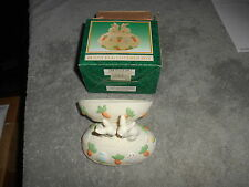 Ceramic Bunny Egg Covered Box World Bazaars, Inc - Jade Collection