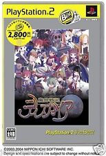 Used PS2  Disgaea: Hour of Darkness  SONY PLAYSTATION JAPAN IMPORT