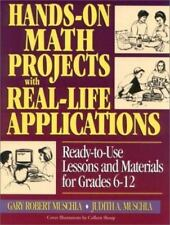 J-B Ed Hands On Ser.: Hands-on Math Projects with Real-Life Applications 6-12th