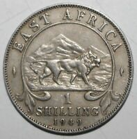 British East Africa 1 Shilling Coin 1949 KN KM# 31 King George VI One