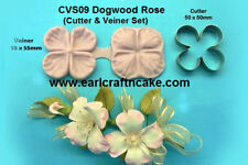 Dogwood Cutter & Veiner Cake Decorating Sugar Flower Gum Paste Tools