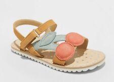 Cat & Jack Toddler 5 Girls' Alice Novelty Applique Ankle Strap Sandals Cherry