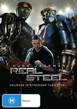 Real Steel  - DVD - NEW Region 4