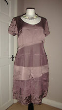 Pret Designer Retro Style linen dress Ethnic Clothing Size 36  UK 10