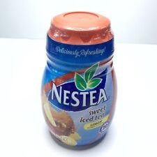 Nestea Lemon Sweet Iced Tea Mix Instant Powdered 45.1oz New Sealed BestBy 8/2019