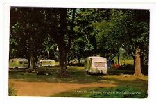 Postcard: Caravans in the New Forest, Holland's Wood, Hampshire