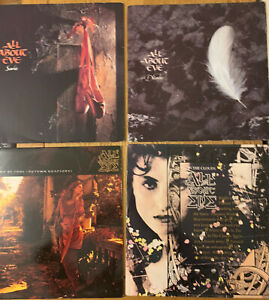 All About Eve / 12 Inch Vinyl X 4 / Scarlet / December / In The Clouds / Kind Of