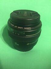 Canon EF 50mm f/1.4 USM Standard & Medium Telephoto Lens for Canon SLR Camera...