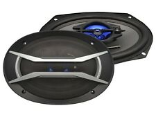 "Supersonic SC-6905 6x9"" 1200 Watts 3-Way Car Audio Speakers (Pair)"