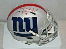 Tiki Barber New York Giants Signed Autographed AMP Mini Helmet JSA 1