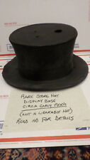 Antique  Store Display Hat   Stove Pipe hat Form mold  super rare abe lincoln