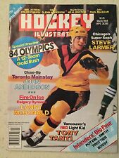 Hockey Illustrated March 1984 Tony Tanti On Cover Olympics Preview Original