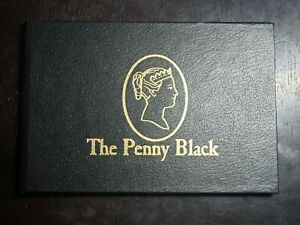 RARE - The Penny Black Stamp, first Adhesive back stamp 1840 with original form
