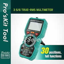 ProsKit MT-1707 3-5/6 True RMS Multimeter electrical and electronic testing NEW