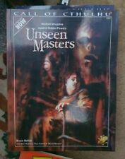 Unseen Masters Call Of Cthulhu