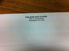 1980'S PHILADELPHIA FLYERS OFFICIAL TEAM ISSUE WHITE ENVELOPE