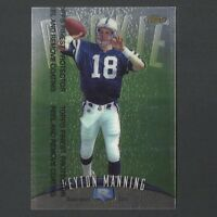 1998 Topps Finest Peyton Manning #121 w/ PROTECTOR  RC Rookie Card
