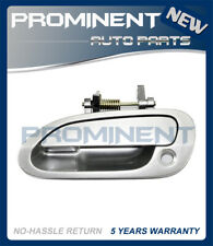 Door Outside Handle  Silver Front Left For 98-02 Honda Accord