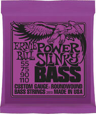Ernie Ball 2838 Slinky Long Scale Bass Guitar Strings 6-string set gauges 32-130