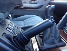 Se adapta a Range Rover P38 Cuero Gear Freno De Mano Cover Set 1995-2002 Doble Stitch