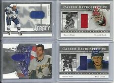 2003-04 In the Game Signature Series - BILL GUERIN - Game Used Jersey - STARS