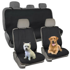 Waterproof Car Seat Cover for Pets Dog Car Gym Travel Front & Rear Set - 3pc