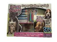 KITTENS & PUPPIES SUPER STATIONERY SET By Bendo 375+ Pieces Craft Set