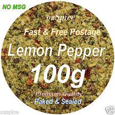 Lemon Pepper 100g - NO MSG - Herbs & Spices -  ozSpice
