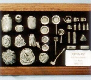 Peddinghaus 1/35 Kitchen Accessories WWII (Pots, Pans, Kettle, etc.) EPHS 062