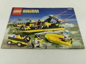 Lego®  nur Bauanleitung only building instructions 6451 River Response R.E.S.Q.