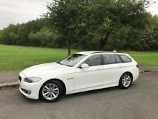 2012 62 BMW 530D SE TOURING AUTO WHITE DIESEL ESTATE 1 OWNER FSH EX POLICE