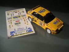 Decal 1 43 LANCIA DELTA N°16 Rally WRC monte carlo 1994 montecarlo