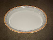 "Villeroy and Boch Switch 4 Naranja Oval Casserole Baker  13 7/8"" x 9 5/8"""