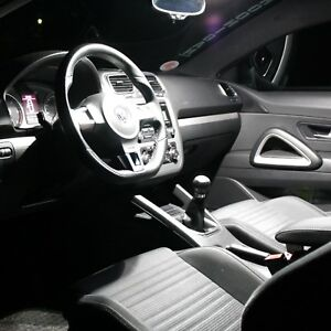 VW Polo V Typ 6R Interior Lights Set Package Kit 10 LED SMD white 1634