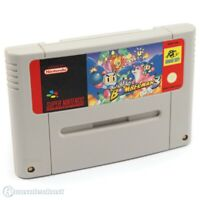 Nintendo SNES Spiel - Super Bomberman 3 Modul mit Anl.