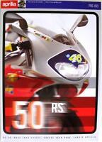 APRILIA RS 50 - Motorcycle Sales Brochure - circa 1998 - #Cod. 16/98